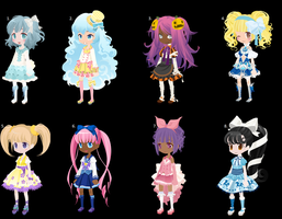 Dream Selfy Adopts! .:FREE:. ~Closed~ by AlicesWonderAdopts