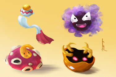 Some More Pokemon V2 by A-Hippocampus