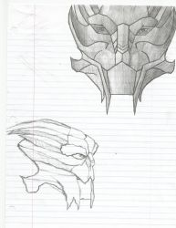 Turian Sketches by Soaringeagle78