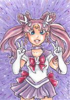 ACEO Parallel Sailor Moon by nickyflamingo