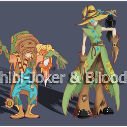 Scarecrows Day/Night versions - OPEN - by Bliood-Kira