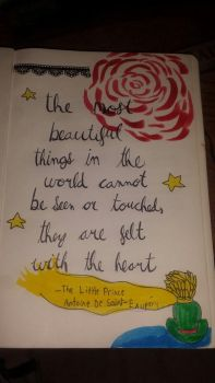 My Bujo- The Little Prince by Reensies