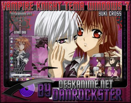 Yuki Cross Theme Windows 7 by Danrockster