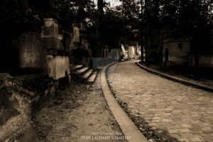 Pere Lachaise Cemetery by DontNoAnything