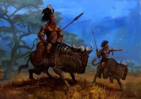 Beasts And Barbarians6 by Perun-Tworek