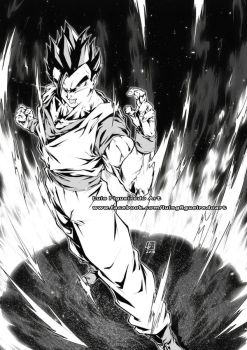 SON GOHAN from Dragon Ball Super by marvelmania