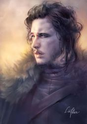 Jon snow by blackwings736