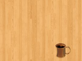 Wood Coffee cup by gnrbishop