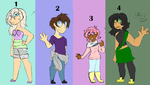 Human Set Price Adopts~ OPEN by multi-fandom-trash-2