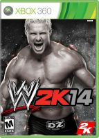 WWE 2K14 (XBox 360 Cover) by DJRocket