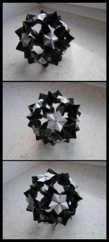 Origami Flower Ball by lonely--soldier