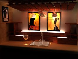 Wet Bar Proposal - Revised by Claevius