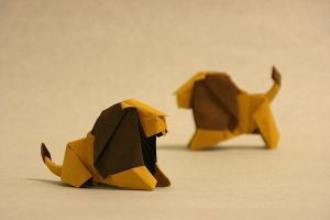 Origami Lion by GEN-H