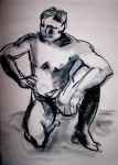 Life drawing session dec -09 H by jaderas