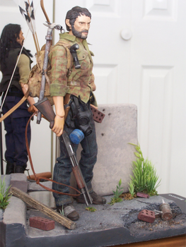 Joel , The Last Of Us  Custom Doll by cbgorby