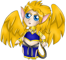 Touch of Gold Chibi 03 by 4got10memory