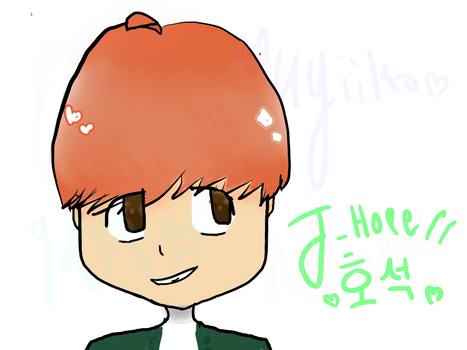 happy day of birth to hoseok by KitharaKitsune