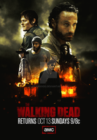 The Walking Dead: Season 4 Poster by jevangood
