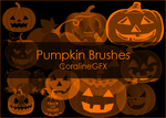 Pumpkin Brushes [13] by CoralineGFX
