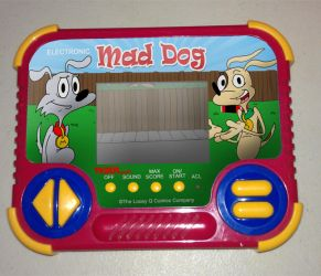 Mad Dog handheld game by Tiger Electronics by LooeyQ