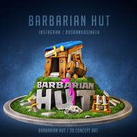 Barbarian Hut - Clash Royale by roshankasinath