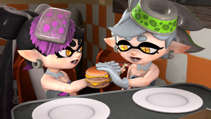 SFM Sharing food by toad14