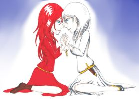 A promise - Snow White and Rose Red (Request) by ALittleLady