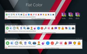 Flat Color WinRAR theme by alexgal23