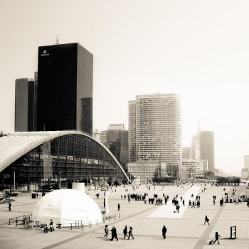 La Defense, Paris by Alexandre-Bordereau