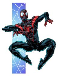 Miles Morales Spider-Man by ScottCohn
