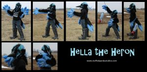 Hella the Heron partial by stuffedpanda-cosplay