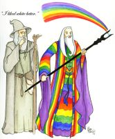 Saruman of many colours by angelcondom
