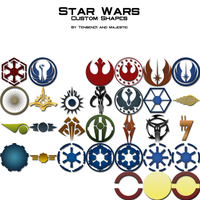 Star Wars Logos by Majestic-MSFC