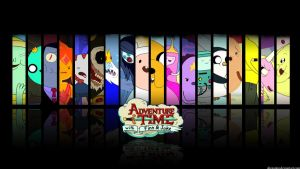 Adventure Time Wallpaper 2 by allenamin