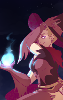 Witch Mercy by The-Art-Files