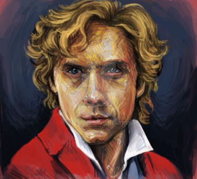 Enjolras (a more refined version) by sleepy-KC