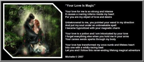 Your Love Is Magic by VisualPoetress