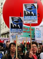 May 18th 2013 - Save the NHS: 33 by LouHartphotography