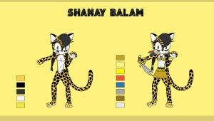 Shanay Balam reference by ChiptheHedgehog