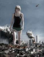 Giantess Taylor - Chaos in Chicago by GiantessStudios101