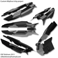 WipEout ship design wip01 by ollite20