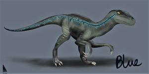 Blue the raptor by PCI-H