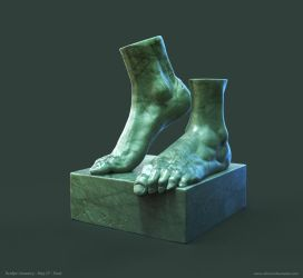 Foot Study by crazy-pixel