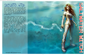 Saltwater Witch -cover concept by the0phrastus
