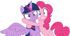 Twilight and Pinkie by DecPrincess