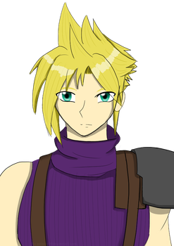 Cloud Strife 2017 by Paladin0