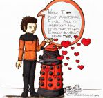 The Amourous Dalek strikes out by ParallelPenguins