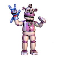 Funtime Freddy (Extra Cutout) by TheRealBoredDrawer