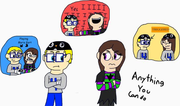 Anything You Can Do (Happy Birthday Riz!) by IseeyouPenguin4