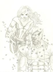 wolverine and kitty by THEGODSLAYER91